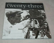 D23 Magazine Spring 2009 Premiere Issue Walt Disney With Camera Cover Sealed