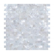 Peel And Stick Backsplash Mother Of Pearl Tile Sticker Adhesive Shell Mosaic On