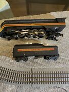Lionel 746 Norfolk And Western Engine 4-8-4 And Tender Model Train Have Video Runnin