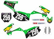 Graphic Kit For 2003-2012 Kawasaki Kx 125 250 Kx 250 125 Decals Chevy Truck