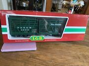 Lgb G Scale 40680 Green Denver And Rio Grande Western Dandrgw Stock / Cattle Car