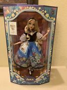 Disney Alice In Wonderland By Mary Blair Limited Edition Doll 70th Anniversary