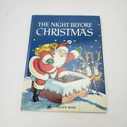 The Night Before Christmas A Big Golden Book Vtg 1950 Corinne Malvern Moore