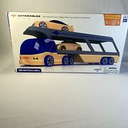 Automoblox Collectible Wood Toy Cars And Trucks-br100 Hercules Hauler/dump Truc