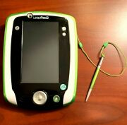 Leapfrog Leappad 2 Explorer Learning System Green And White Edition, Excellent