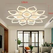 Acrylic Modern Led Ceiling Lights For Living Room Bedroom Dining Chandeliers Usa