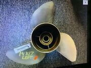 Yamaha Outboard Motor Left Hand Prop 14 X17 Andnbspv6 150-300 Hp Used Good Condition