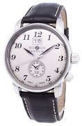 Zeppelin Series Lz127 Graf Germany Made 7644-5 76445 Menand039s Watch
