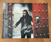 Peter Kwong Signed 11x14 Photo Big Trouble In Little China Rain Coa 6