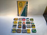 Vintage Auto Fuse Lot Old Metal Tin Glass Gas Antique Oil Can Gm Delco Ford Car