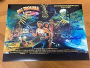 Big Trouble In Little China Signed 11x14 Photo Hong Pax Kwong +5 Coa 1
