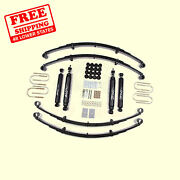 2 Front And Rear Suspension Lift Kit For Jeep Wrangler Yj 4wd Gas 1987-1995 Zone