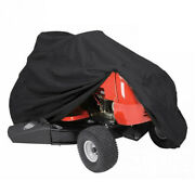 Deluxe Riding Lawn Mower Tractor Cover Waterproof Garden Fit Decks Up To P1i6