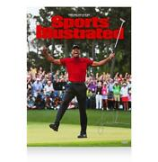 Tiger Woods Signed Sports Illustrated Cover Print 2019 Masters Champion