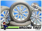 Set Of 4 Wheels Land Rover 20x8.5 Used Rims 5x120 +255/55/20 Goodyear 8.5x20