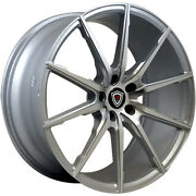 Staggered 20x9 / 20x10.5 Marquee Luxury M1035 Silver 5x112 +35/+40 Wheels Rims