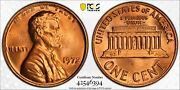 1972 Ddo Lincoln Memorial Cent 1c Fs-101 Pcgs Ms 66 Rd Mint Unc Red 394