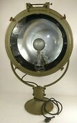 Original Wwii U.s. Army Crouse-hinds Searchlight - Restored And Working Cond.