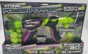 Hog Wild Atomic Power Popper 12x With 12 Balls And 3 Sticky Targets