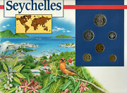 Coins Of The World Seychelles 1982-1994 Bu 5 Rupees 1982 1 Rupee, 5 Cents 1992