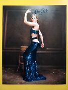 Hilary Swank Hand Signed 10 X 8 Photo Autograph Sexy Actress And Film Producer