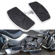 Motorcycle Driver Passenger Footboards Floorboards Pedals For Yamaha V-star 650