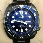 Auth Seiko Watch Prospex Save The Ocean Sbdy027 Automatic 45mm Divers 200m F/s