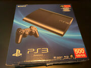 Sony Playstation 3 Ps3 500gb Super Slim Game Console Open Box