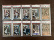 Shaquille Oneal Rookie Card Lot Psa 9 10 Cards Total