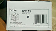 Delta 50150-ss Body Spray With H2okinetic Technology In Stainless