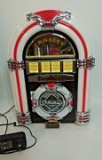Crosley Cr1101a Table Top Am-fm Jukebox With Cd With Owner's Manual