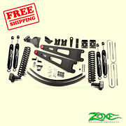 6 Front And Rear Radius Arm Suspension Lift Kit For Ford F350 4wd 2011-2016 Zone