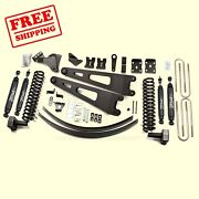 6 Front And Rear Radius Arm Suspension Lift Kit Fits Ford F250 4wd 2011-2016 Zone