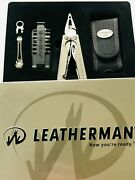Vintage Leatherman Charge Tti Multitool In The Tin Gift Box Discontinued Rare
