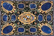 Marble Coffee Table Top Mosaic Art Dining Table For Home Furniture 30 X 48 Inch
