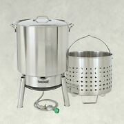 Bayou Classic 82-qt Steam Or Boil Stainless Steel Kit