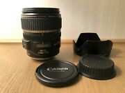 Canon Ef-s Is Usm 17-85mm F/4.0-5.6 Lens From Japan Canon Shipping By Dhl 167