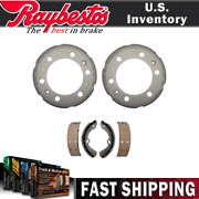 Raybestos Rear Kit Brake Drums And Brake Shoes For Isuzu Reach 2012