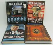 Lot Of 4 Killing Books Bill O'reilly And Martin Dugard Hb Lincoln, Rising Sun +
