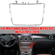 Cup Holder Plating Ashtray Trim Ring Chrome For Benz C Class W253 W205 2015-2020