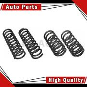 Moog Chassis Products Front Rear 2 Of Coil Spring Sets For Mercury 1983-1986