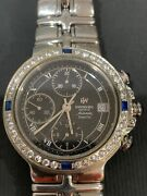 Raymond Weil 7791 Chronograph Automatic Black Dial Menand039s Sapphire Watch