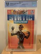 Static 1 - Dc/milestone 1993 Cbcs 9.8 - 1st App Of Static - Collector's Edition