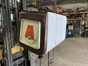 Alemite Heavy Duty Hose Reel 3 Bank Overhead Covered Grease Oil Air Shop Supply