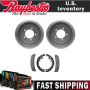 For Jeep J-4800 1973 1972 Rear Kit Brake Drums And Brake Shoes - Raybestos