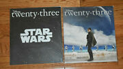 D23 Magazine Star Wars Lot Winter 2015 And 2016 Rouge One Cover Disney Sealed