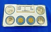 1986 Us Mint Liberty 6 Coin Commemorative Set Proof And Uncirculated Gold/silver N