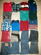 Lot Of 20 Boys Size 8 10 Fall Winter Name Brand Under Armour Tcp Champion 8121