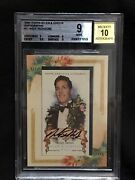 2006 Topps Allen Ginter Andy Irons Champion Surfer Bgs 9 Autograph 10 Sp Card