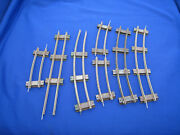 S Scale American Flyer Track Lot Plus 696 Track Trip And 690 Terminal